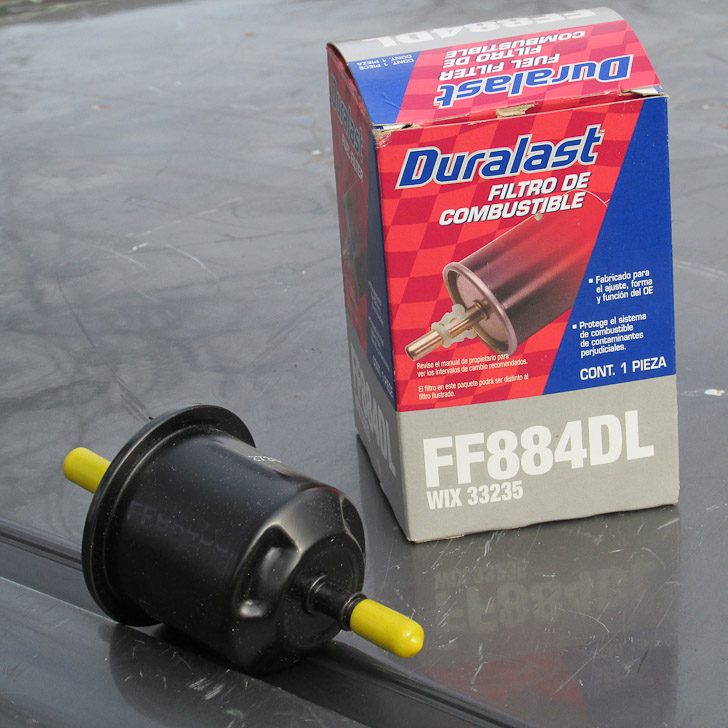 duralast ff884dl fuel filter